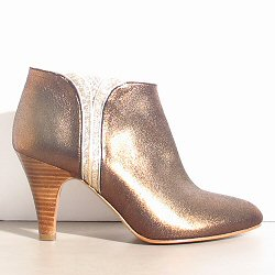 Patricia Blanchet boots Sublime bronze gold