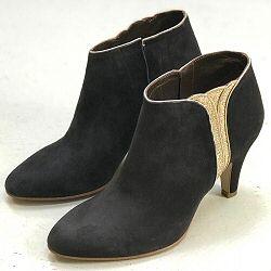 Patricia Blanchet boots Sublime daim gris anthracite