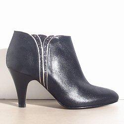 Patricia Blanchet boots Sublime noir liseret doré