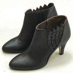 Patricia Blanchet boots Tarantina noir shiny