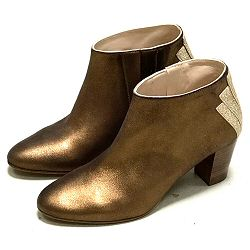 Patricia Blanchet boots Fabuleuse bronze