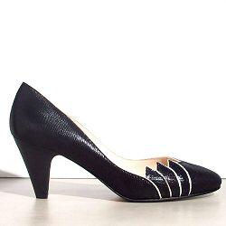 Patricia Blanchet escarpins Caipirinha noir glitter