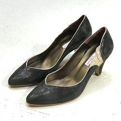 Patricia Blanchet escarpins Brewster shiny gris