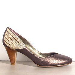 Patricia Blanchet escarpins Gorgo bronze