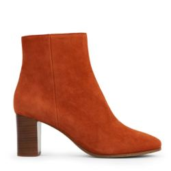 Rivecour bottine 241 veau velours terracotta
