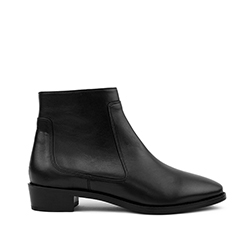 Rivecour bottine 67 cuir noir