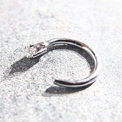 Sansoeurs boucle solo diamant or blanc18k