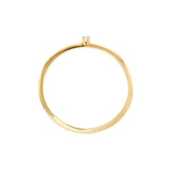 Sansoeurs bague Single Tres-or gold ring