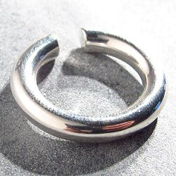 Saskia Diez Bold earcuff fin argent 925