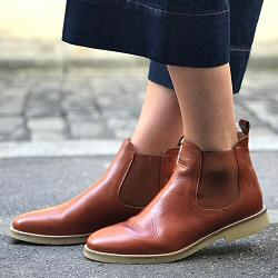 Sessun boots Jim Lane cuir terra