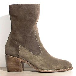 Sessun Ludd Boots daim kaki