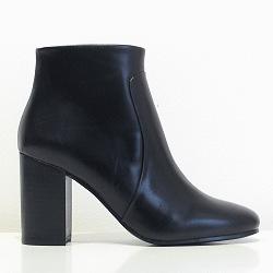 Sessun boots Veruska cuir noir