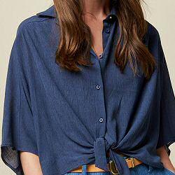 Sessun chemise Alfassa blue marlin