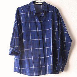 Sessun chemise Delima bleu nuit