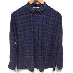 Sessun chemise Delima blue checks