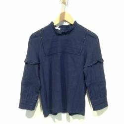 Sessun chemise blouse marine Sara