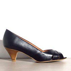 Sessun escarpins Esteban cuir noir