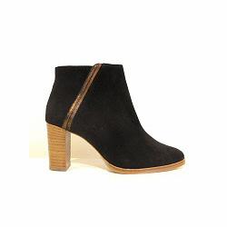 Sessun boots Louli daim noir
