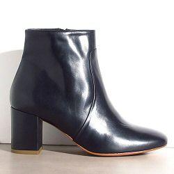 Sessun boots Petulia cuir noir
