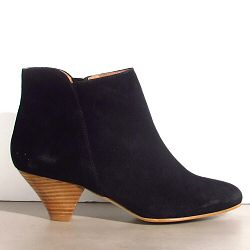 Sessun You Boots daim noir