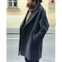 Sessun manteau Andrei gris
