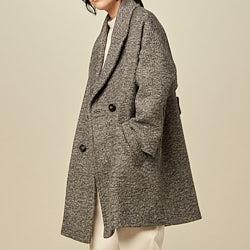 Sessun manteau Audrey 20 mix grey