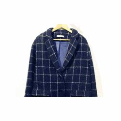 Sessun manteau Oncle Georges bleu marine