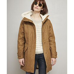 Sessun manteau Sundance gold fourré