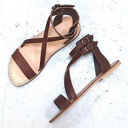 Sessùn sandales Apollonia renard