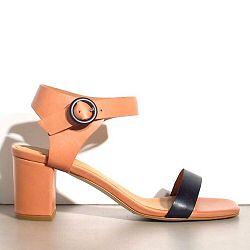 Sessun sandales Saint Sulpice cuir caramel