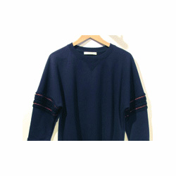 Sessun sweat Malaspina bleu marine