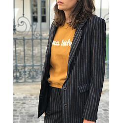 Sessun veste de costume Gustave carbone