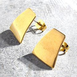 Soko boucles Mini canvas flat laiton brut recycle