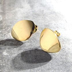 Soko boucles Sabi smooth full laiton brut recycle