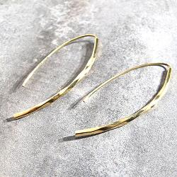 Soko boucles Twisted Bow laiton brut