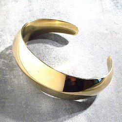 Soko bracelet Ivara laiton brut recyclé