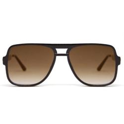 Spitfire lunettes de soleil Orbital noir / brown