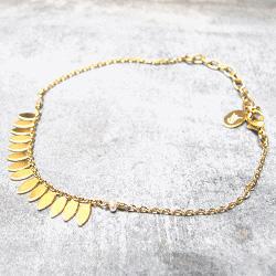 Stalactite bracelet Elise doré