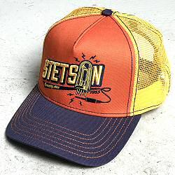 Stetson casquette homme Trucker cap Connecting orange