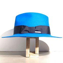 Stetson chapeau femme Iona bleu electrique furfelt