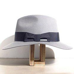 Stetson chapeau femme Iona gris feutre poil de lapin