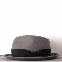 Stetson chapeau femme Irving gris