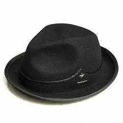 Stetson chapeau player homme feutre noir star