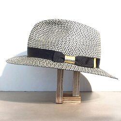 Stetson chapeau Traveller ete noir blanc