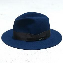 Stetson chapeau femme Iona bleu profond furfelt