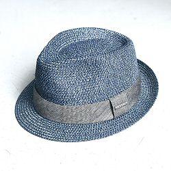 Stetson chapeau Trilby ete bleu