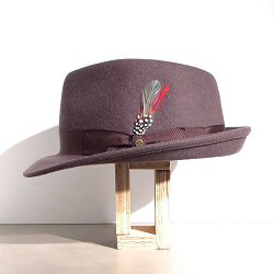 Stetson chapeau marron trilby Elkader