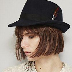 Stetson chapeau bleu marine Elkader
