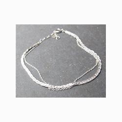 Sumi Kaneko bracelet chaine argent