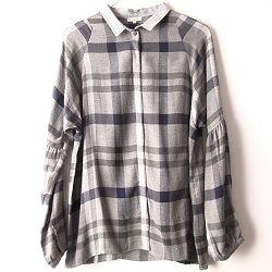 Tinsels chemise Hugot à carreaux gris